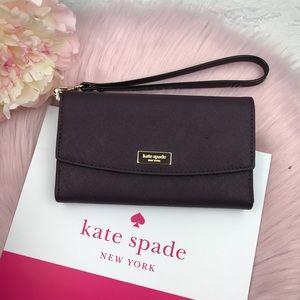 💖 Kate Spade Laurel way phone Wristlet